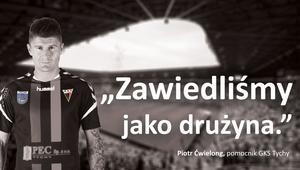 Piotr Ćwielong kampania teaserowa GKS Tychy