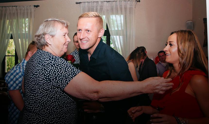 Pilka nozna. Krystyna i Walter Glik. 31.01.2018