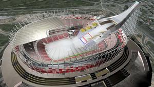 Stadion narodowy, skocznia