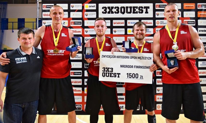 Adrian i Przyjaciele najlepsi w 3x3 QUEST w Katowicach