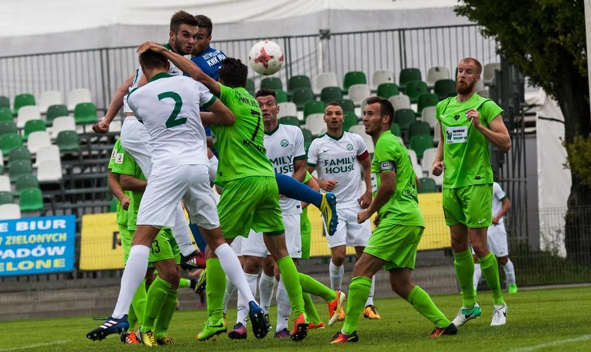 Pilka nozna , 2 liga , Warta Poznan - Rozwoj Katowice
