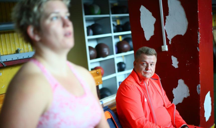 Trening Anity Włodarczyk