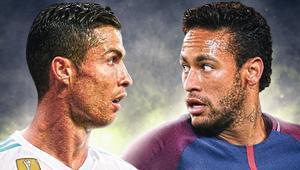 Cristiano Ronaldo, Neymar, okładka