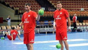 Trening reprezentacji Polski przed meczem z Holandia
