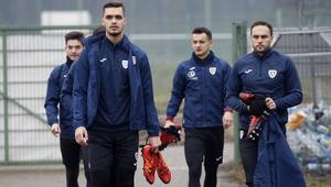 Pilka nozna. Ekstraklasa. Piast Gliwice. Trening. 10.01.2018