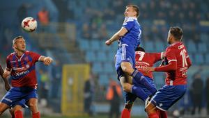 W Chorzowie piłkarze Rakowa zaprezentowali się znacznie lepiej niż ich kibice.
