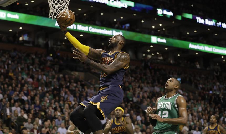 NBA: Cleveland Cavaliers at Boston Celtics