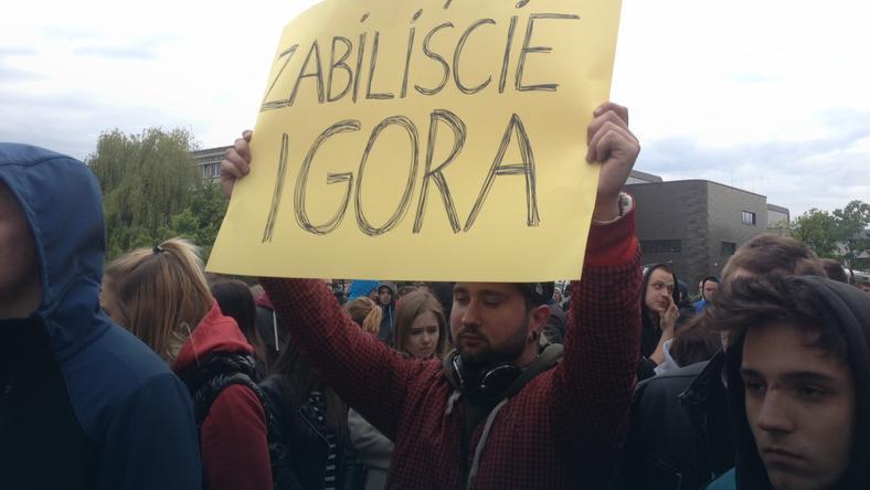 Wojciech Bojanowski: ten materiał nie zwróci życia Igorowi Stachowiakowi