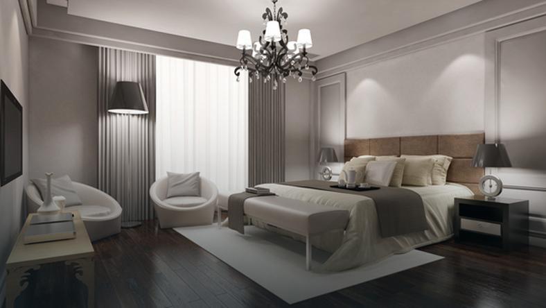 Sypialnia wystroj