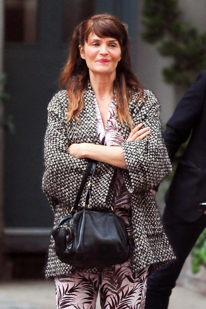 Helena Kristensen juče u Njujorku
