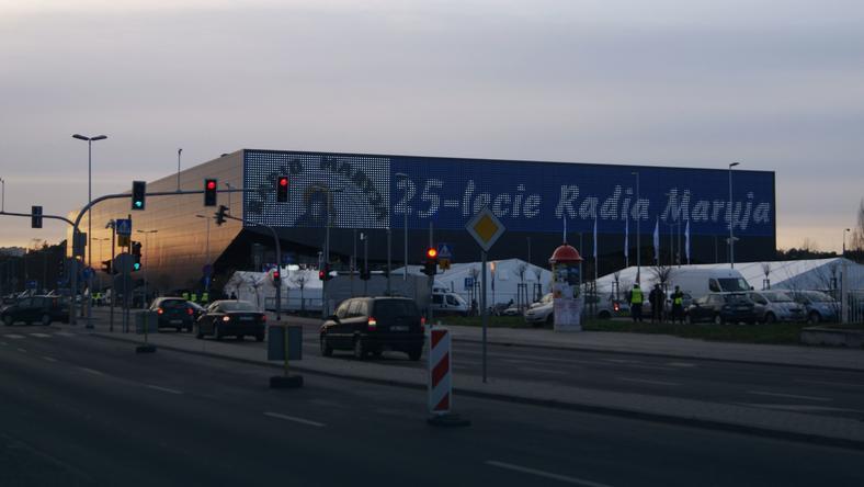 Arena Toruń podczas urodzin Radia Maryja w grudniu 2016 r.
