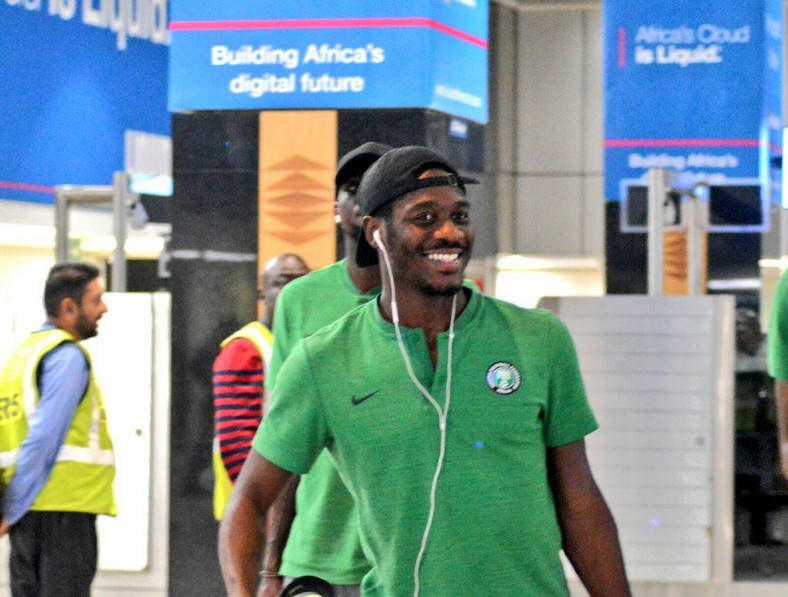 Ola Aina is with the Super Eagles ahead of AFCON 2019