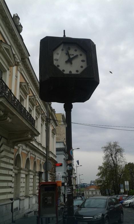 Kraj Ulice kneza Mihaila posle 40 minuta šetnje: 14 sati