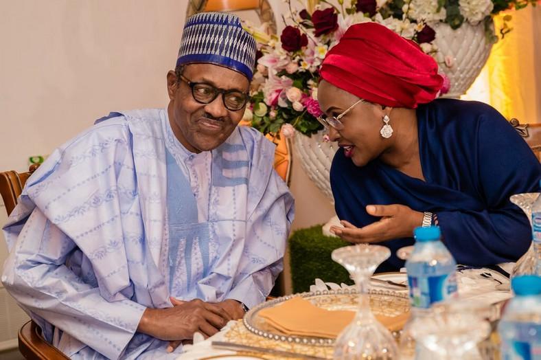 President Muhammadu Buhari and Wife of the President, Aisha Buhari