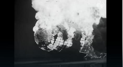 Foto: Nesreća u Hindenburgu