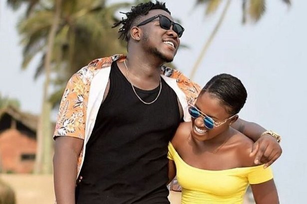 Fella Makfui and her boyfriend, Medikal