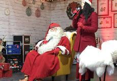 ... Cuki  karácsonyi vásáron lepte meg a kicsiket Joulupukki ... cdfbb4fd83