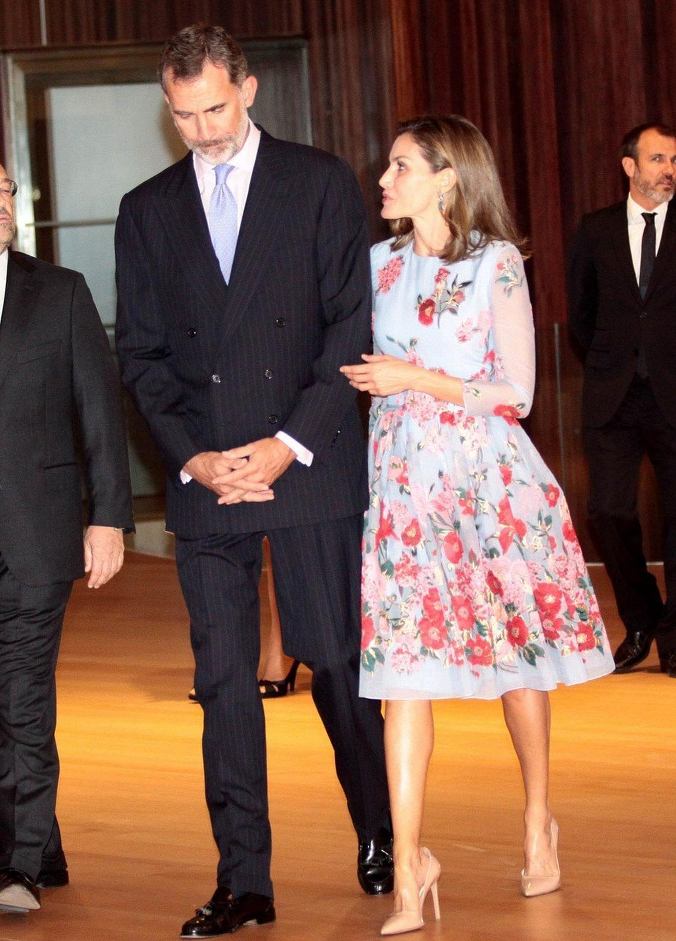 Kraljica Letisija sa kraljem Filipom VI