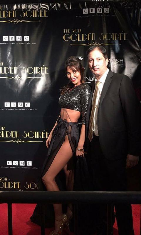 CRNO ALI SE SVE VIDI! Modelsica u provokativnom izdanju na žurki u Holivudu!