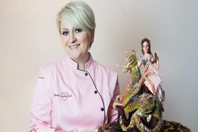 Pogledajte dobro, ovo je figura za tortu: Napravila ju je Nataša iz Beograda i došla do zlata!