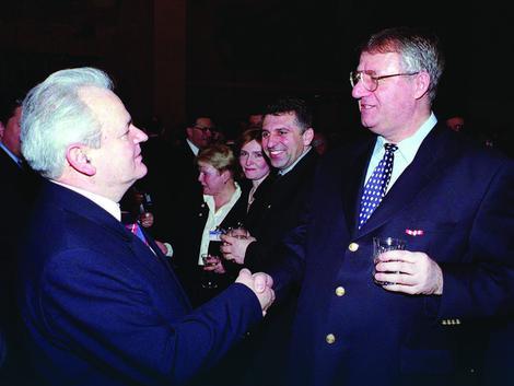 Image result for šešelj vučić milošević