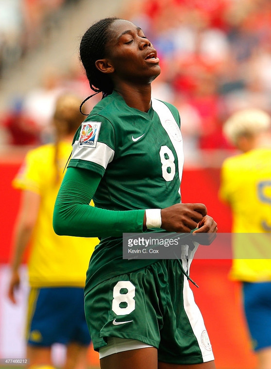 Asisat Oshoala has fallen short on the world stage with the Super Falcons, something she is aiming to improve on at this year's tournament.