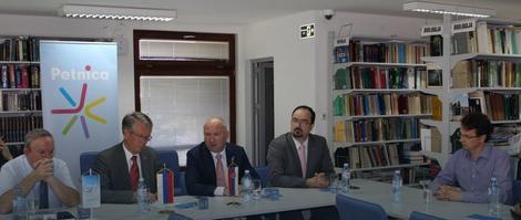 """Ministar Popović i ambasador Čepurin u poseti """"Petnici"""""""