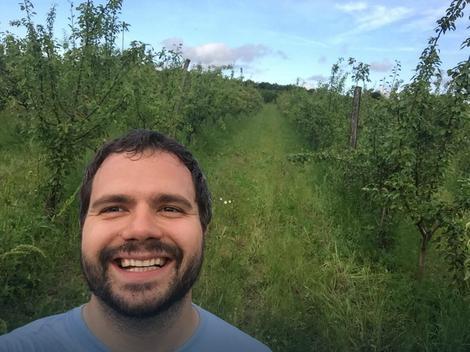 Selfi na plantaži krušaka