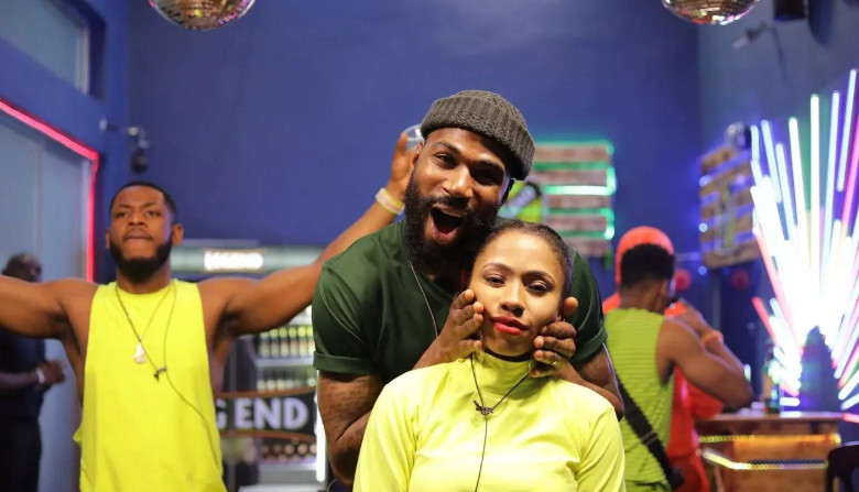 Mercy and Mike were the last two housemates standing on the 99th day of BBNaija 2019 Pepper Dem. [Africa Magic/BBNaija]