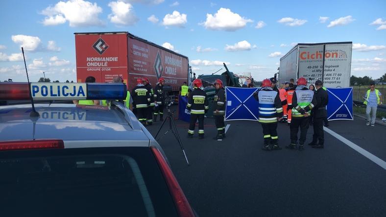 Wypadek na obwodnicy Lublina. 5 osób nie żyje
