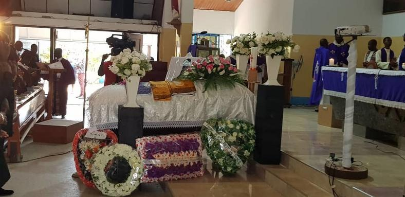Slain Public Affairs Manager of GPHA laid to rest