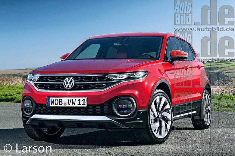 Volkswagen T-ROC - wizualizacja