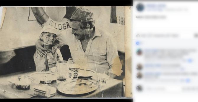 Mali Miša sa dedom Žikom
