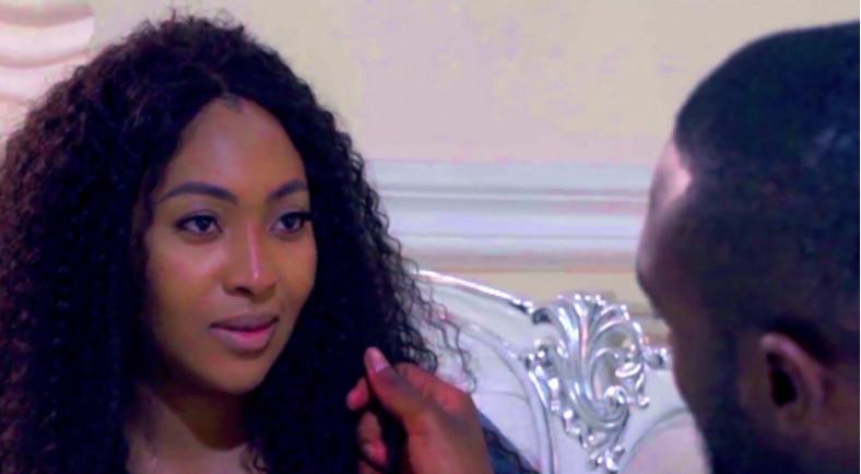Lilian Esoro from a scene in the movie, 'Alter Date' [YouTube/Yemisi Banjoko]