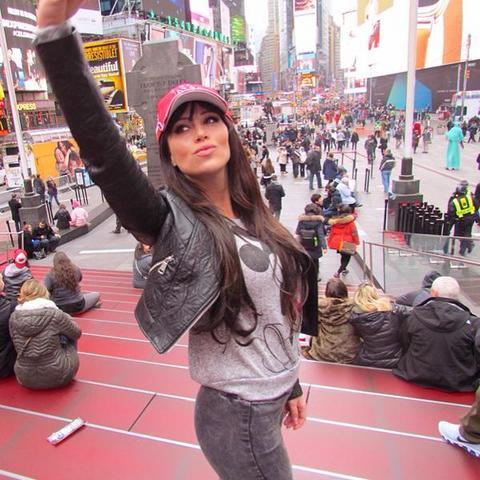 Stanijin selfi sa Tajms skvera! FOTO