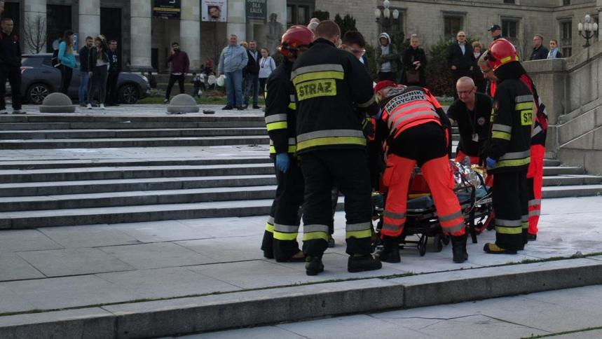 Polityczne samopodpalenie się na Placu Defilad