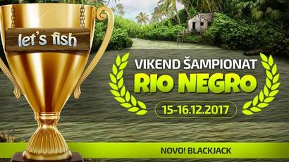 Rio Negro vikend šampionat u Let's Fish
