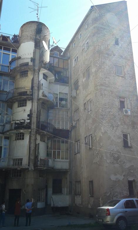 Zgrada u kojoj se dogodila tragedija