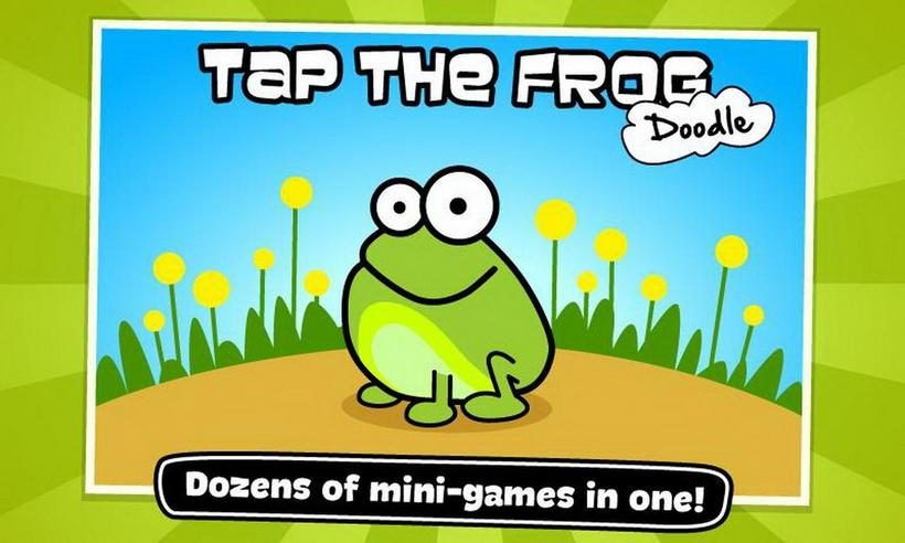 gameplanet Tap The Frog Doodle