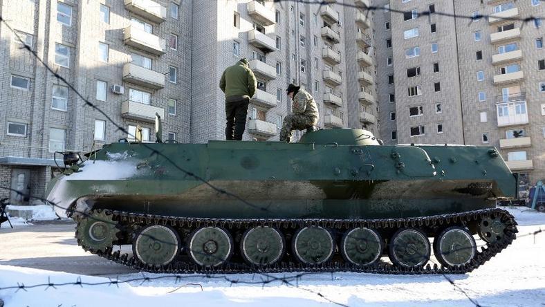 USA rozważają dostarczanie na Ukrainę broni przeciwczołgowej