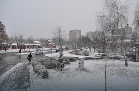 Prvi sneg u Boru