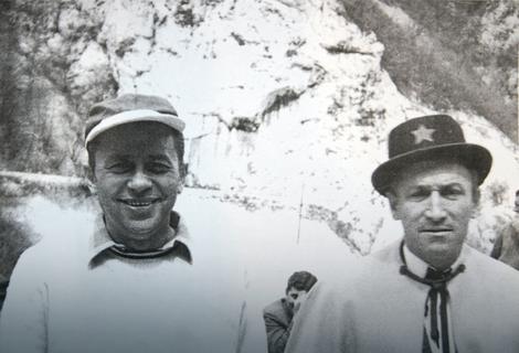 Mija Aleksić sa Čkaljom