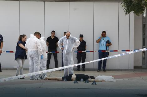 Uviđaj ubistva u Belvilu