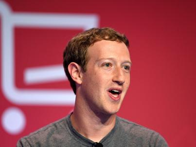 Mark Zuckerberg, prezes Facebooka