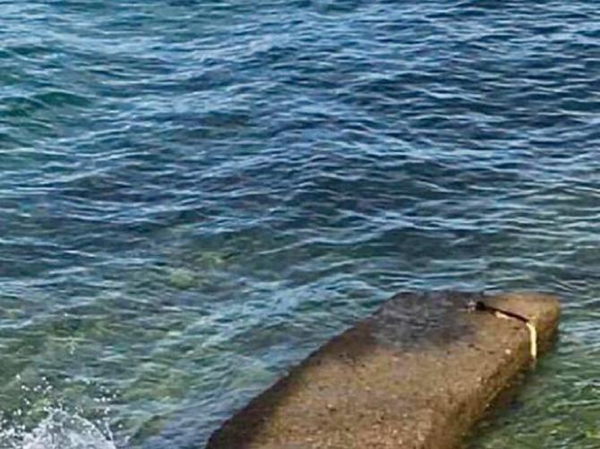 Stena sa hrvatskog ostrva BEZOBRAZNO izgleda: Ostatak slike pokazuje zbog čega je to tako!
