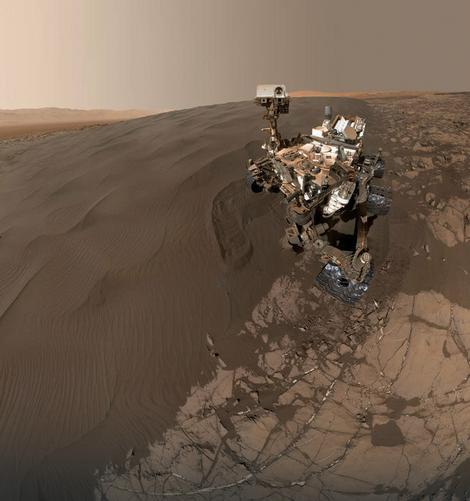 Pesak na Marsu