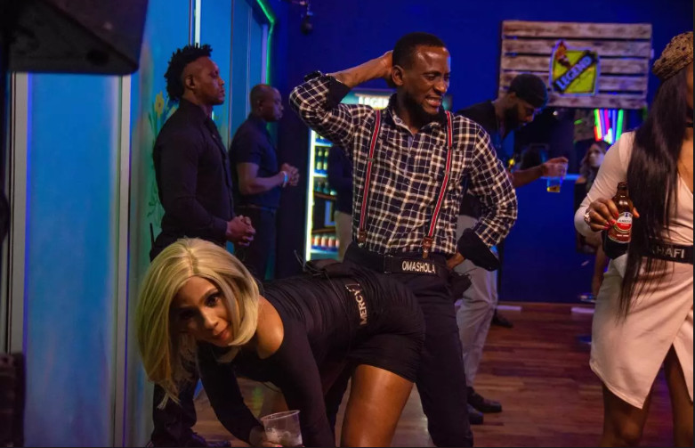 There was quite some risque dancing in the Big Brother Naija House [Africa Magic/ BBNaija]