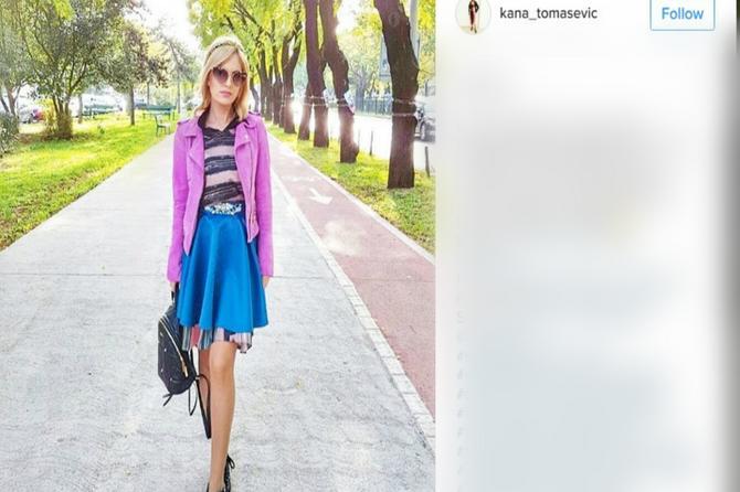 Kana je praktična žena iz Srbije: Ume sa parama i još bolje sa modom!