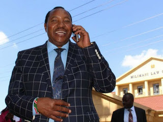 Ferdinand Waititu is among those whose phone conversation with Mike Sonko was recorded and released to the public