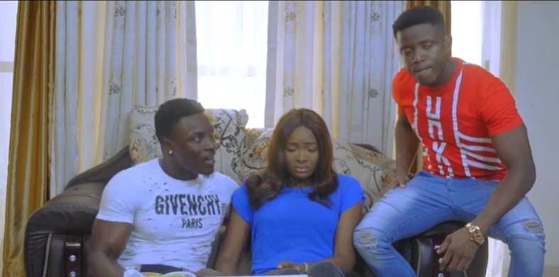 A scene from the web series, 'Life as it is' [YouTube/Gosi TV]